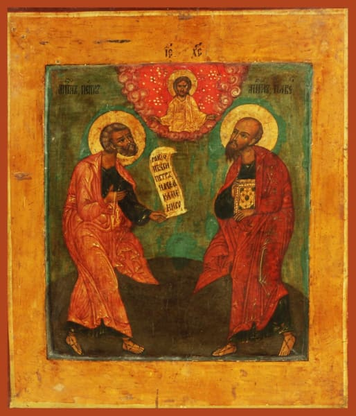 Sts. Peter And Paul - Icons