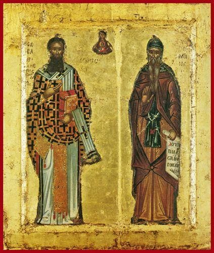 Sts. Sava Of Serbia And Simon The Myrrhgusher - Icons