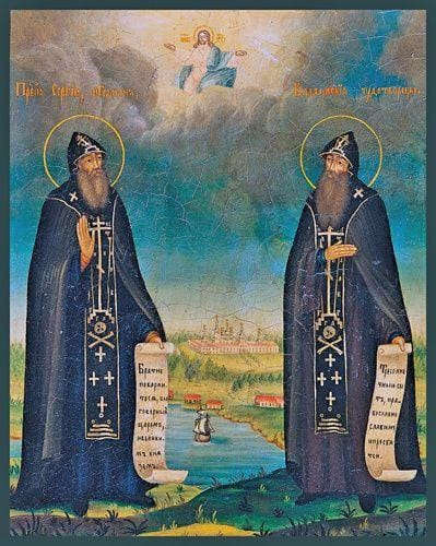 Sts. Sergius And Herman Of Valaam - Icons