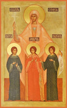 Load image into Gallery viewer, Sts. Sofia Faith Hope And Love - Icons
