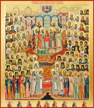 Load image into Gallery viewer, Synaxis Of Moscow Saints - Icons
