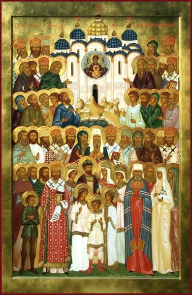 Synaxis Of Siberian Saints - Icons