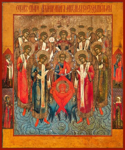 Synaxis Of The Archangels - Icons