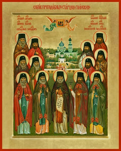 Synaxis Of The Glinsk Elders - Icons