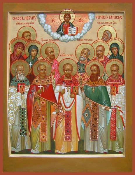 Synaxis Of The New Martyrs Of Klinski - Icons