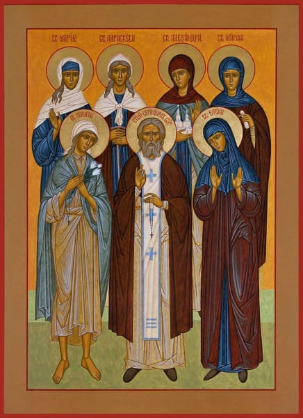 Synaxis Of The Saints Of Diveyevo - Icons