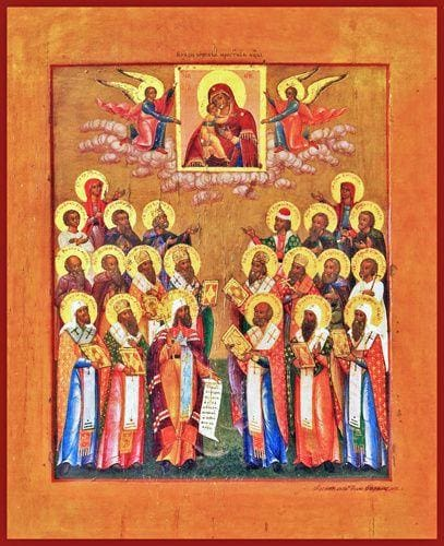 Synaxis Of The Saints Of Rostov - Icons