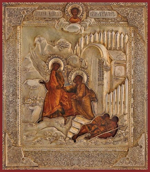 The Angel Delivers St. Peter From Jail - Icons