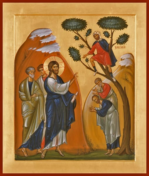The Calling Of Zacchaeus - Icons
