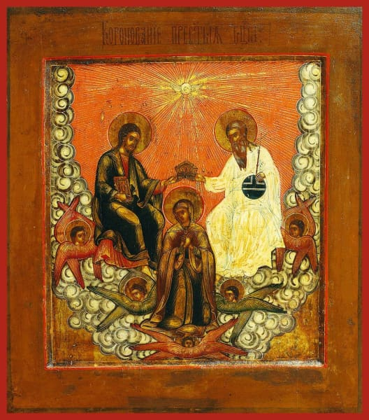 The Coronation Of The Mother Of God - Icons