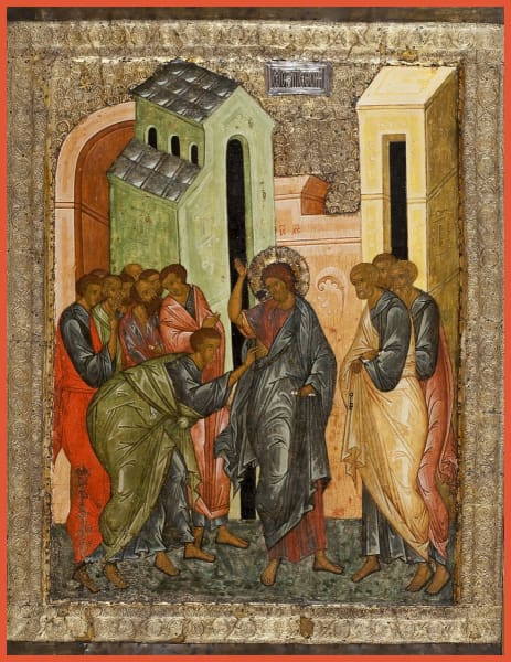 The Doubting Of St. Thomas - Icons