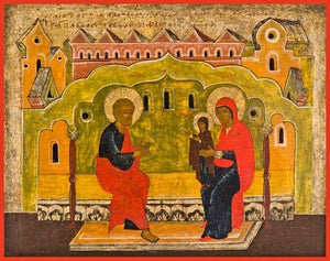 The First Steps Of The Mother Of God - Icons