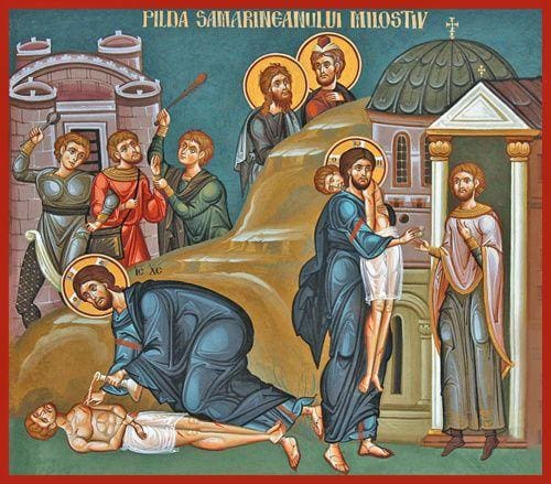 The Good Samaritan - Icons