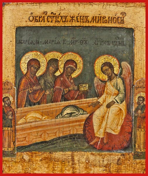 The Holy Myrrh Bearing Women - Icons