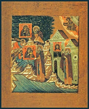 Load image into Gallery viewer, The Miracle Of The Mother Of God To St. Abramius Of Galich - Icons