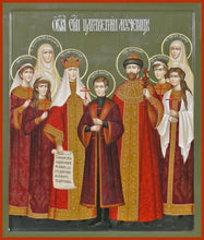 Load image into Gallery viewer, The Royal Martyrs Of Russia - Icons