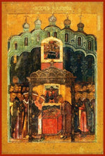 Load image into Gallery viewer, The Translation Of The Lords Robe To The Assumption Cathedral In The Moscow Kremlin - Icons