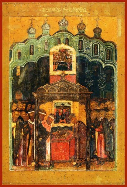 The Translation Of The Lords Robe To The Assumption Cathedral In The Moscow Kremlin - Icons