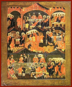 The Wedding Of Cana - Icons
