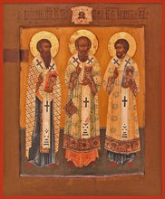 Load image into Gallery viewer, Three Holy Hierarchs - Icons