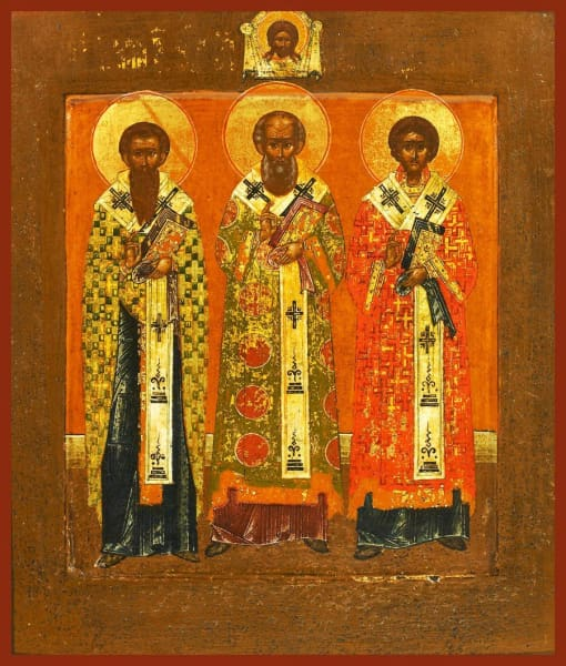 Three Holy Hierarchs - Icons