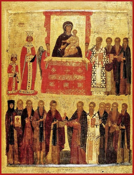 Triumph Of Orthodoxy - Icons