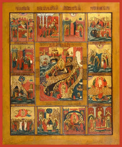 Twelve Great Feast Days - Icons