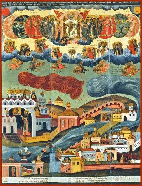Vision Of The Tsar To Justify The Ways Of God To Men - Icons
