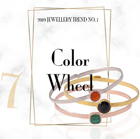 Jewelry Trend Color Wheel Sabyavi