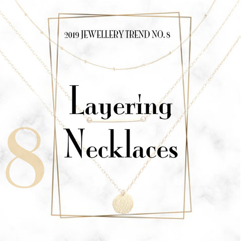 Jewelry Trend Layering Necklaces