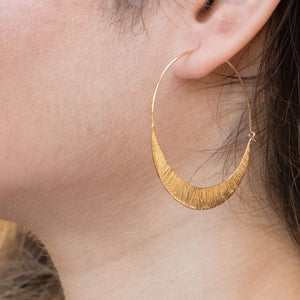 Sabyavi Hoops Gold Classic Hoops Sterling Silver