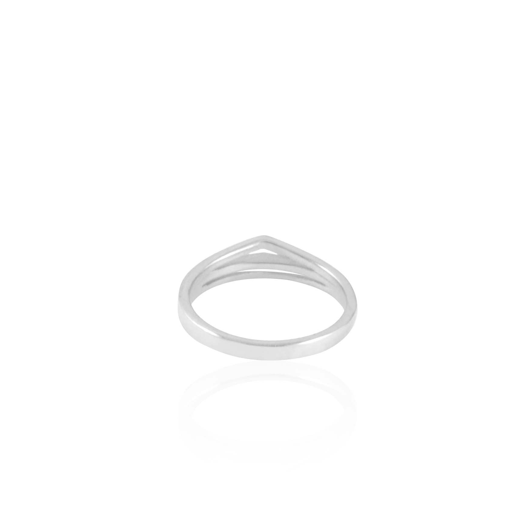 Double Band Sterling Silver