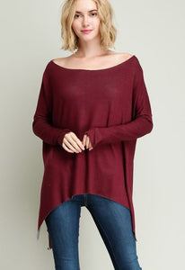 Sweet with a Sassy Side Slit Tunic