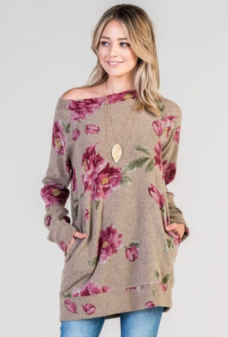 Floral Fall Fix Pullover