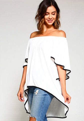 Night Off the Shoulder Tunic