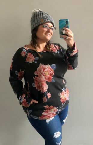 Floral Fix Pullover