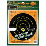 Orange Peel Bulls-Eye 100 Sheets, 8""