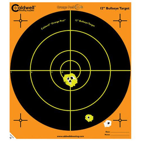 Orange Peel Bulls-Eye 5 Sheets, 12""