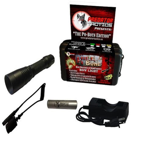 Predator Tactics KillBone Po-Boys Double LED Light Kit Gn/Rd