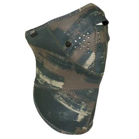 ZANheadgear 3 Panel Neo-X Neoprene Dark Brushed Camo