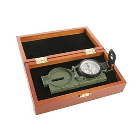 Official US Miltary Lensatic Compass Tritium, Gift Box