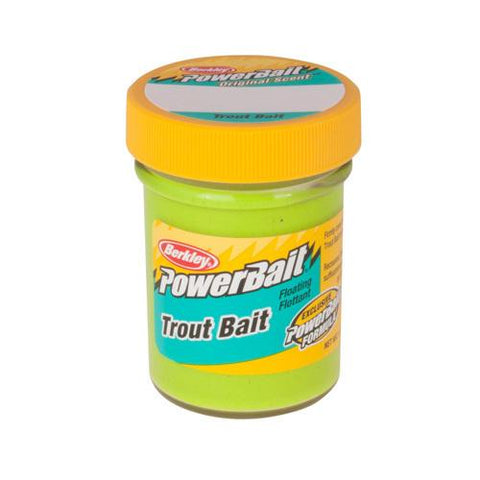 PowerBait Trout Dough Bait Chartreuse
