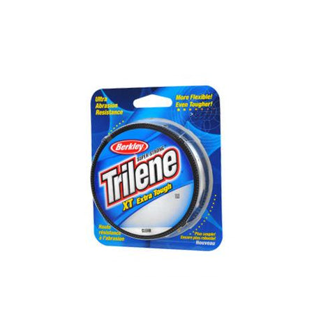 "Trilene XT  Monofilament Line Spool 330 Yards, 0.010"" Diameter, 6 lb Breaking Strength, Clear"