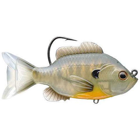 "Sunfish Swimbait Freshwater, 4 3/8"" Length, 7/8 oz, 1'-8' Depth, Bronze Bluegill, Per 1"