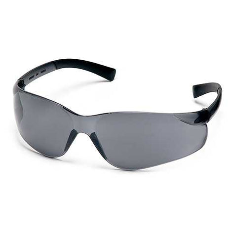 Ztek Safety Glasses Gray Lens with Gray Temples