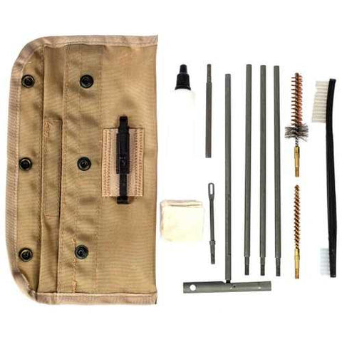 Tac Shield Universal GI Field 13 Piece Cleaning Kit Tan
