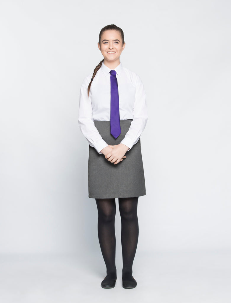 Porthcawl Comprehensive Girls Aspire straight skirt
