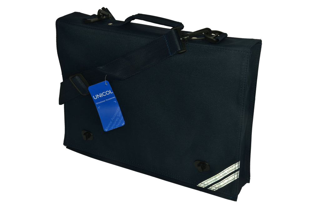 West Park Primary Buckle Book Bag (with strap)