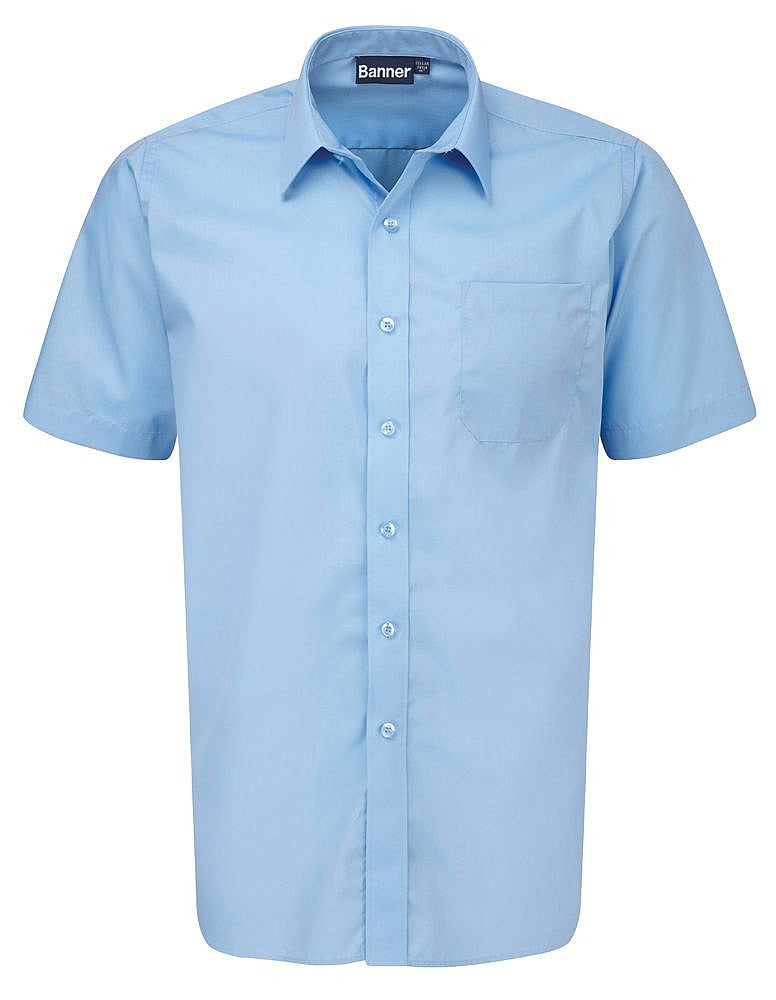 Boys Banner Short Sleeve Shirts