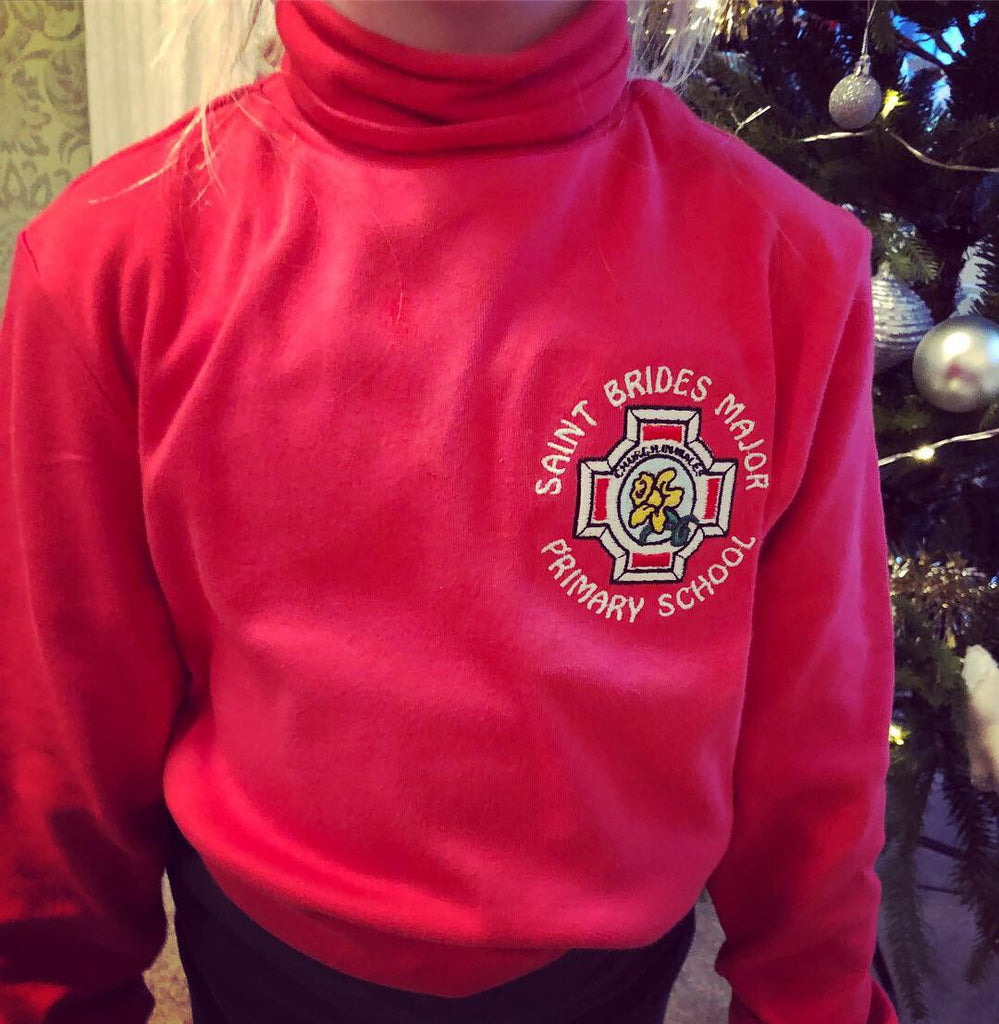 Polo Neck with School Logo